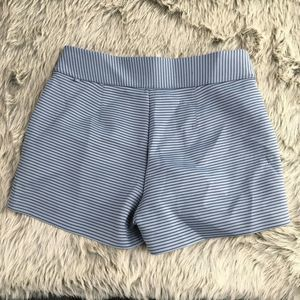 Lululemon Shaped Gray Stripe Pull On Shorts 10